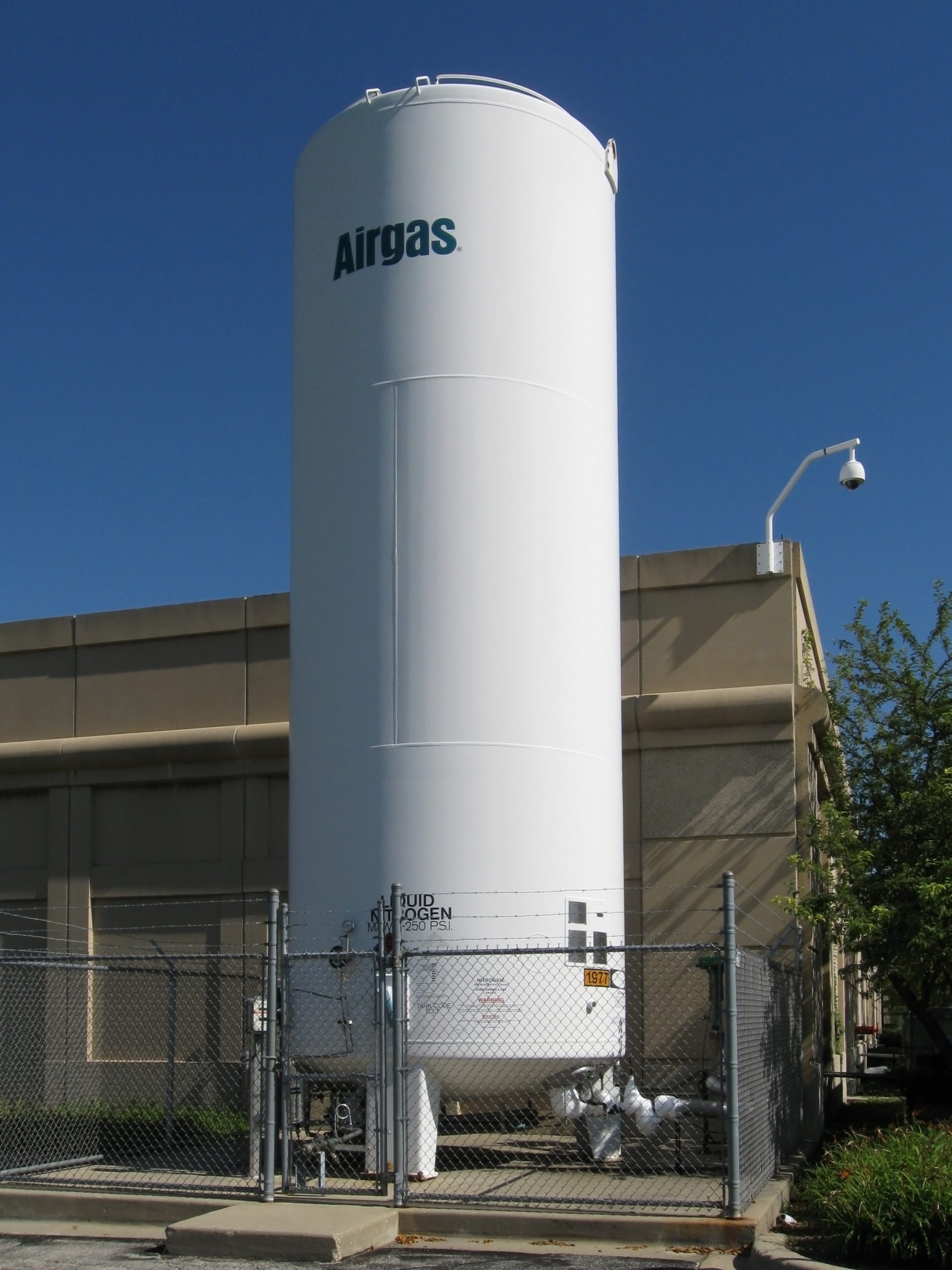 آزمایش های کنترل کیفی بر روی مخزن های کرایوژنیک