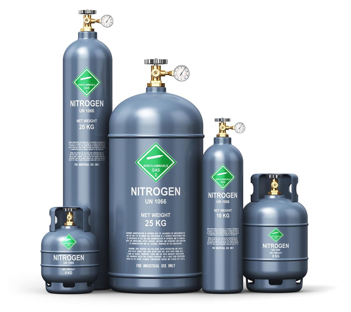 قیمت کپسول گاز نیتروژن به عوامل زیادی بستگی دارد