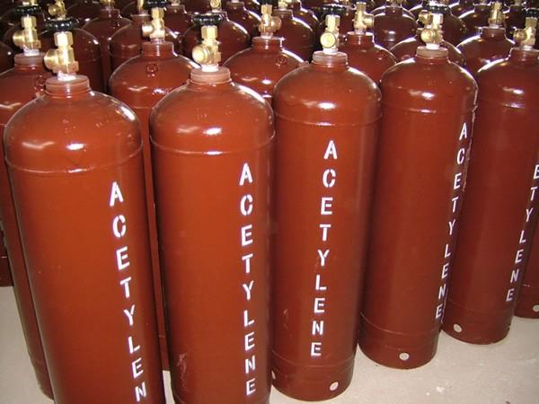 اطلاعات فنی و مشخصات گاز استیلن: